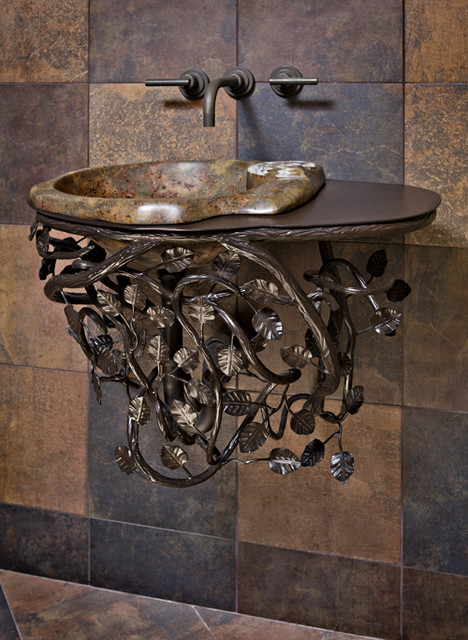 Decorative Bathroom Sinks : Quenched - a decorative sink base - Contemporary - Bathroom Sinks ...