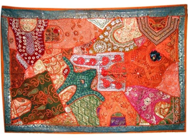 Indian Sari Tapestry asian-holiday-decorations