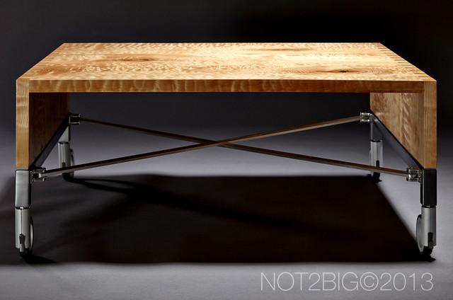 Birdseye Maple Coffee Table modern-coffee-tables