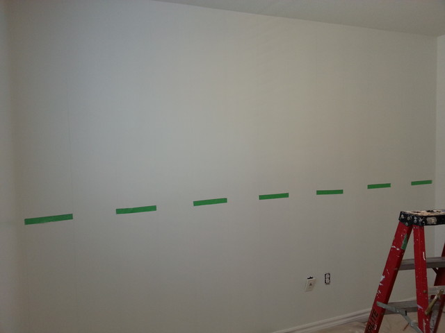 How to Paint Vertical Stripes modern