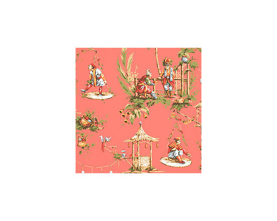 Great Estates Marco Polo Wallpaper, Pink -