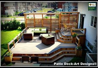 Patio Deck Art Designs Outdoor Living