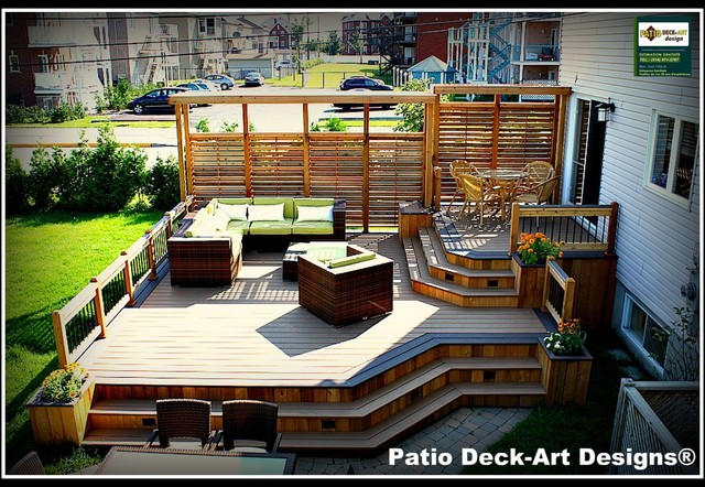 patio deck art designs outdoor living