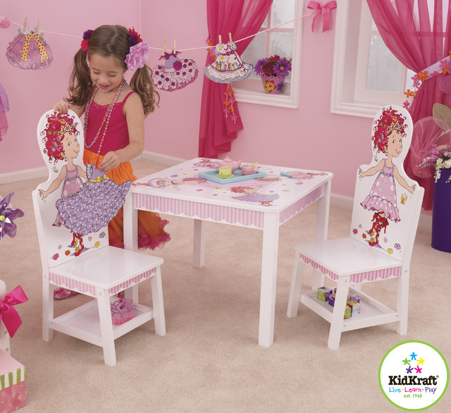 Similiar KidKraft Doll Table And Chair Keywords – Girls Table and Chair