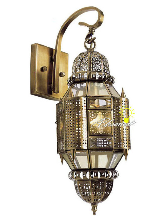 Antique Morroco Wall Sconce in Copper Finish - Antique Morroco Wall Sconce in Copper Finish