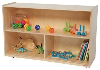 Wood Designs 30H in. Versatile Storage Unit - Natural modern-kids-products