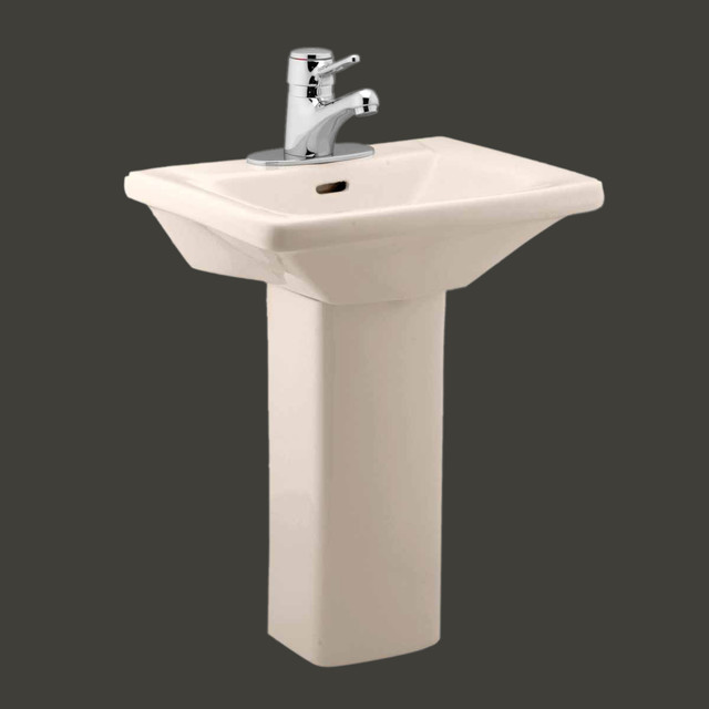 wash child size pedestal sink bone 10792 contemporary bathroom sinks