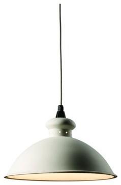 "Justice Design Group CER-6300 Single Light 14.75"" Interior Oriel Pendant Rated f midcentury-pendant-lighting"