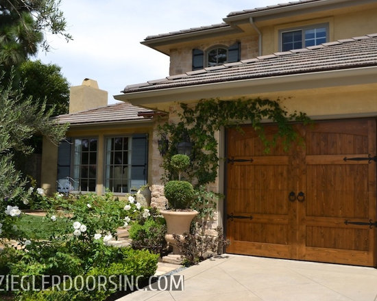French Style Garage Doors Custom Euro Shutters Crafted in Orange County -