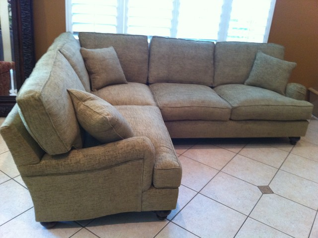 """""""Natalie"""" (as a Pillowback) traditional-sectional-sofas"""