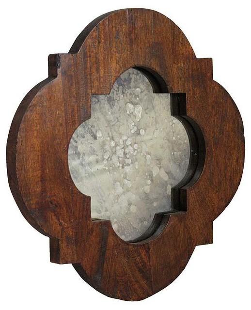 Regina Andrew Modified Pattern Mirror Traditional