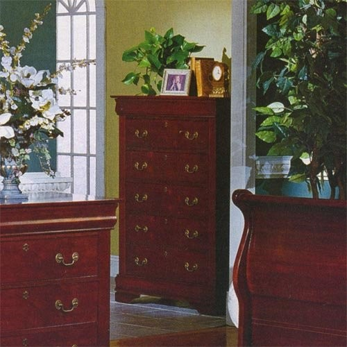 Homelegance Dijon 6-Drawer Chest traditional dressers chests and bedroom armoires