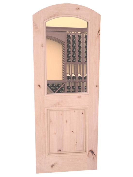 CellarSelect™ Wine Cellar Door: Malbec Half Lite (Natural with Lacquer) -