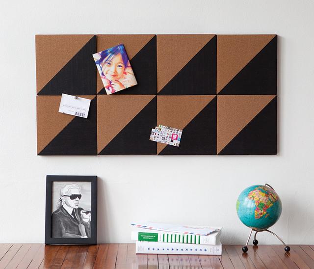 graph cork board modern bulletin boards and ForModern Cork Board