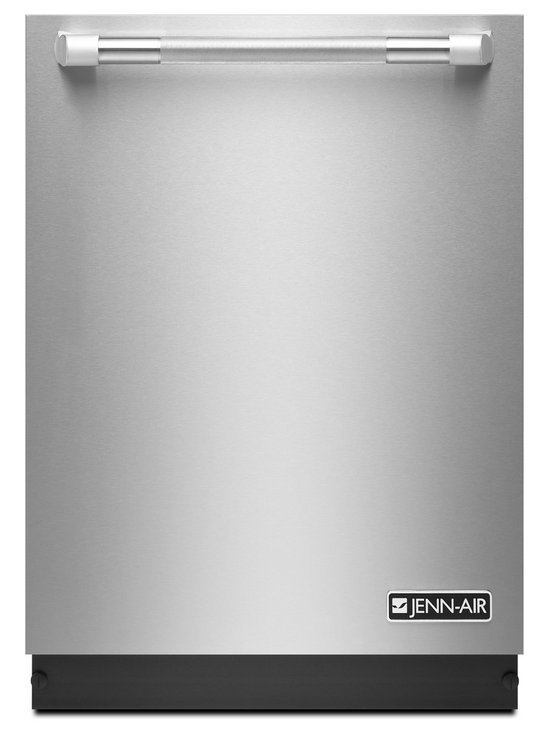 """Jenn-Air 24"""" Trifecta Dishwasher, Stainless Cabinet 