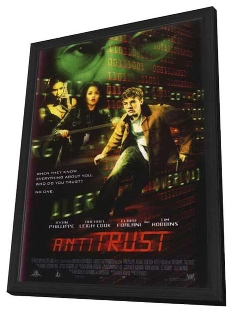 antitrust movie reiew Film in theaters leonard maltin reviews april 16, 2018 1087 simplicity is not in vogue among today's filmmakers, but the rider is so consistently good that it has wowed critics and audiences on the film festival circuit.