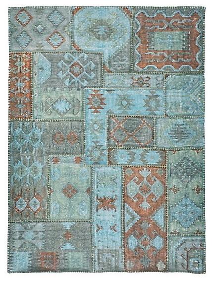 Patchwork Kilim rustic-rugs