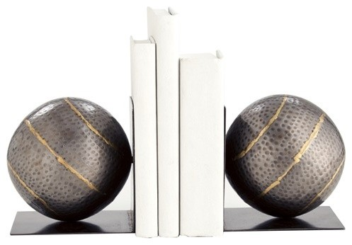 Gauge Bookends Pair contemporary-bookends