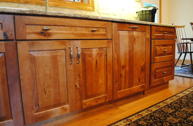 Rustic Birch Kitchen - Rustic - Kitchen Cabinetry - philadelphia - by Sterling Kitchen & Bath