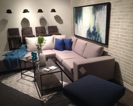 Toronto Showroom 2014 - Our Jacob 3 piece Sectional!