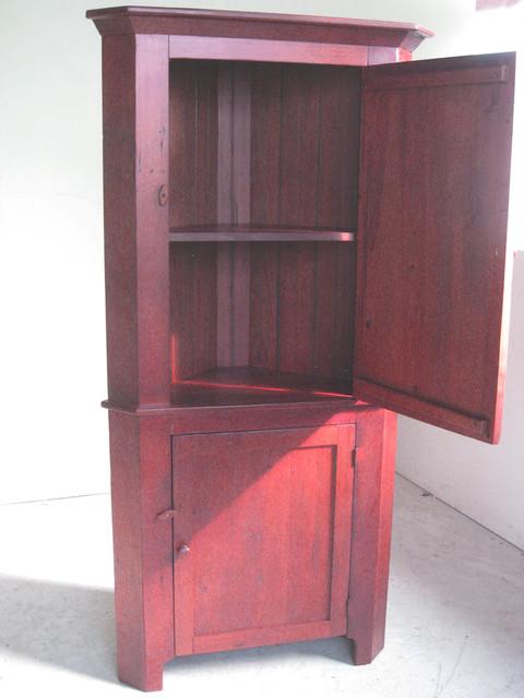Reclaimed Wood Corner Cabinet - Farmhouse - boston - by ...