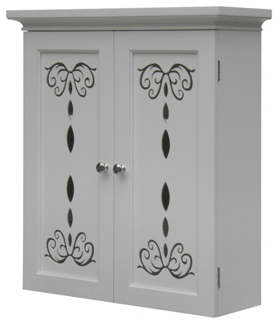 Dallia Wall Cabinet with 2 Doors modern-medicine-cabinets