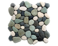 Pebble Tile Products traditional