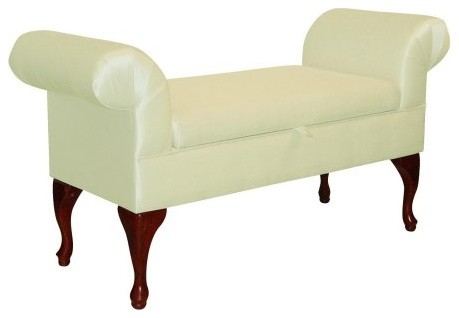 queen anne storage bench modern bedroom benches by hayneedle