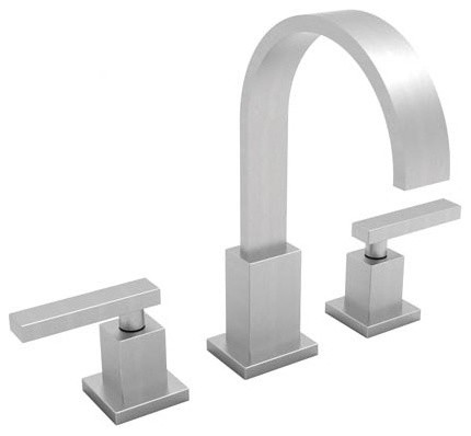 Secant Widespread Bathroom Faucet with Double Handles modern-bathroom-faucets