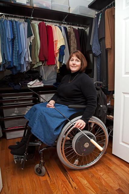 Universal/Accessible interior designs by Glickman Design Build Handicap Wheelcha eclectic