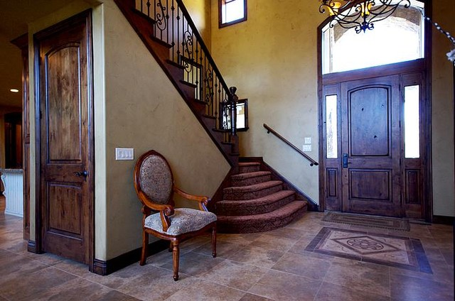 traditional entry by Upland Development, Inc.
