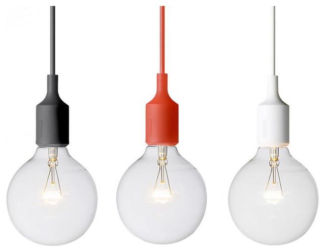 E27 Pendant Light contemporary-pendant-lighting