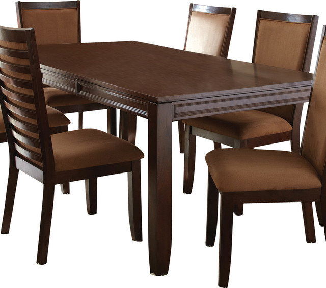 Steve Silver Cornell Rectangular Dining Table in Rich ...