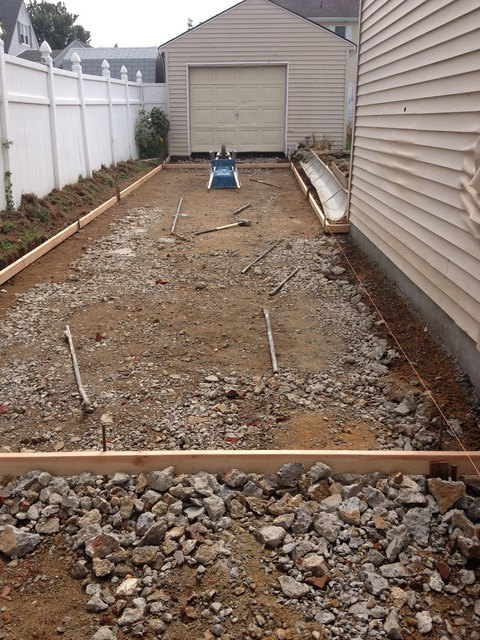 Is This Concrete Driveway Ready For Pour