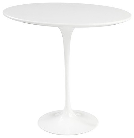 Knoll Saarinen 20-Inch Round Side Table modern side tables and accent tables