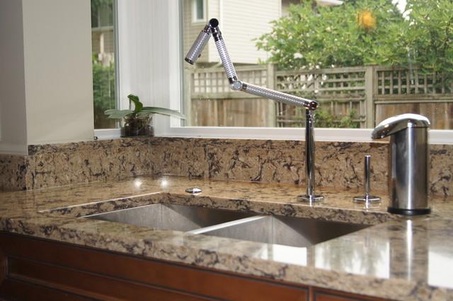 Kohler Karbon Faucet - contemporary - kitchen faucets - vancouver
