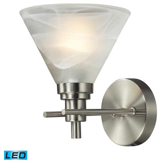 Led Bathroom Vanity Lights : LED Bathbar, Brushed Nickel - Transitional - Bathroom Vanity Lighting ...