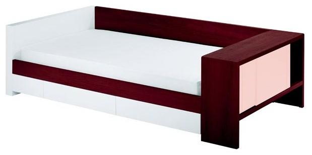 Duet Twin Cotton Candy Cabinet w/ Dark Frame & Trundle - Modern - Kids Beds - by Masins Furniture