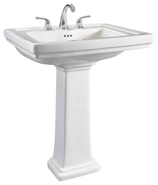 pedestal bathroom sink contemporary bathroom sinks by overstock