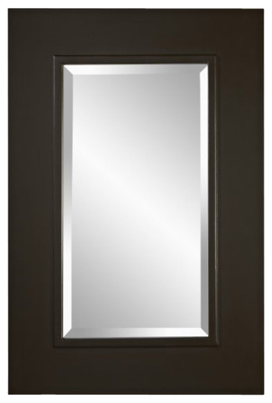 Oil Rubbed Bronze Mirror Contemporary Mirrors By