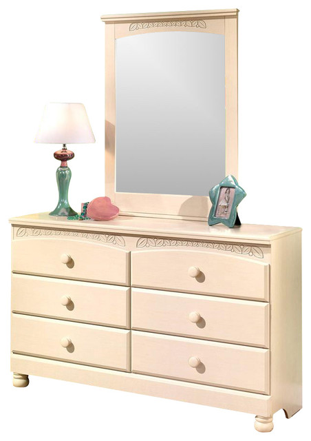 2 Pc Dresser Set traditional-kids-dressers-and-armoires