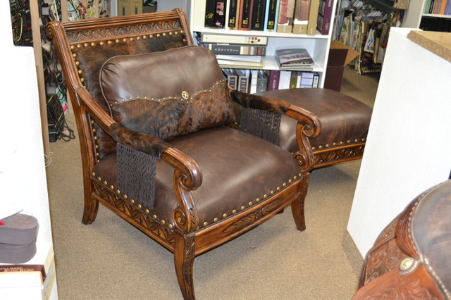 Rustic leather chairs bing images