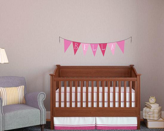 Nursery Pennant Name Banner -