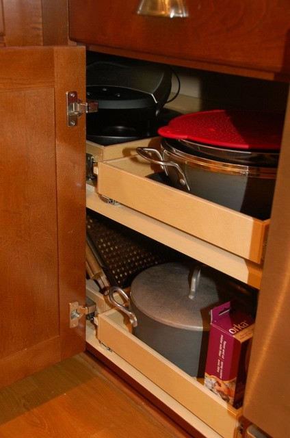 Blind Corner Solution - Cabinet And Drawer Organizers ...