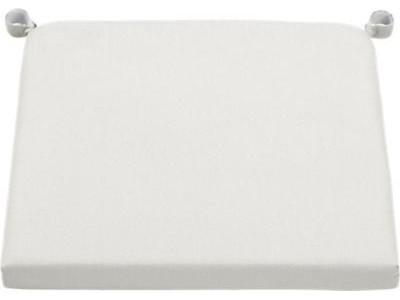 Alfresco Sunbrella® White Sand Chair-Bar Stool Cushion contemporary-dining-chairs