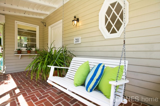 Sun drenched Traditional Cottage in the heart of Mill Valley contemporary-porch