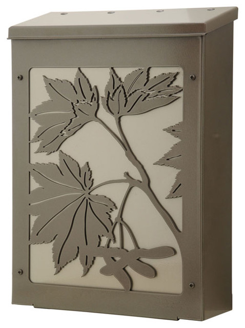 Blink Maple Leaf Wall Mount Mailbox traditional-mailboxes