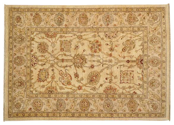 Antiqued Tabriz Oriental Rug Hand Knotted 100 Wool High
