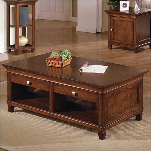 Kathy Ireland Home by Martin - Bradley Coffee Table - 151256 traditional-coffee-tables