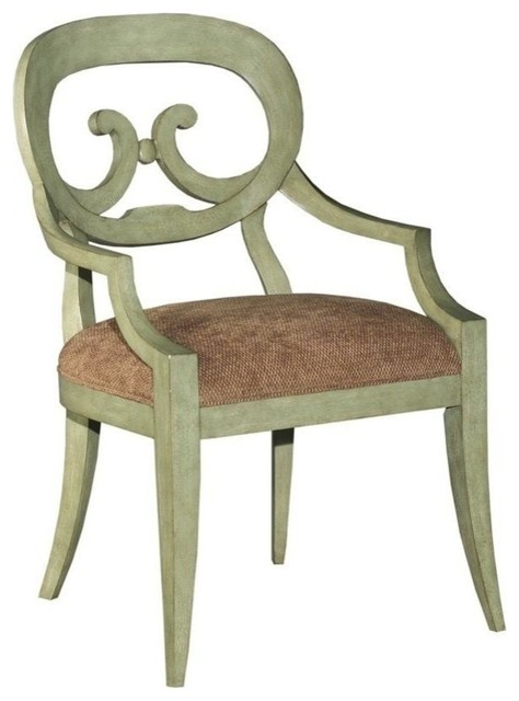 Set/6 New French Country Dining Arm Chair traditional-armchairs-and-accent-chairs